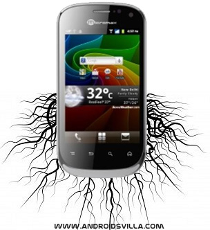 Micromax A75 rooting