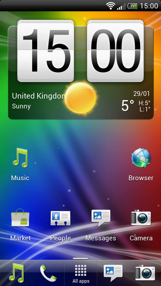ICS ROM HTC Sensation XE