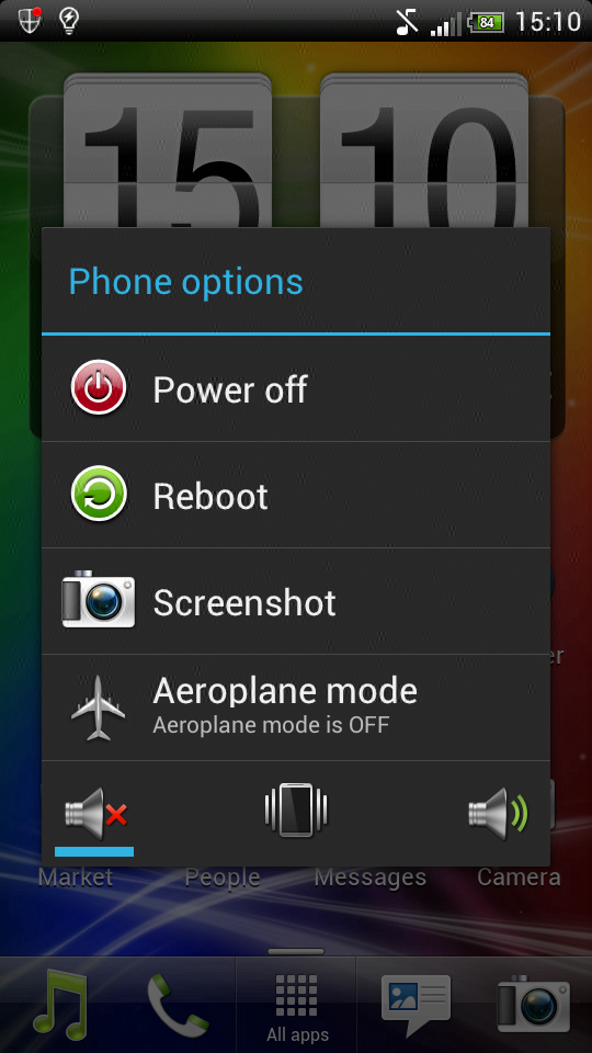 ICS ROM HTC Sensation XE settings
