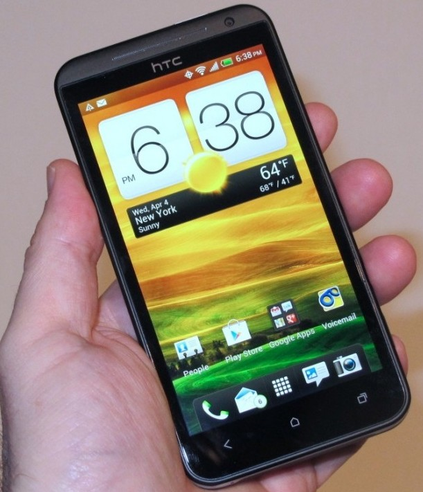 HTC EVO 4G LTE on Sprint