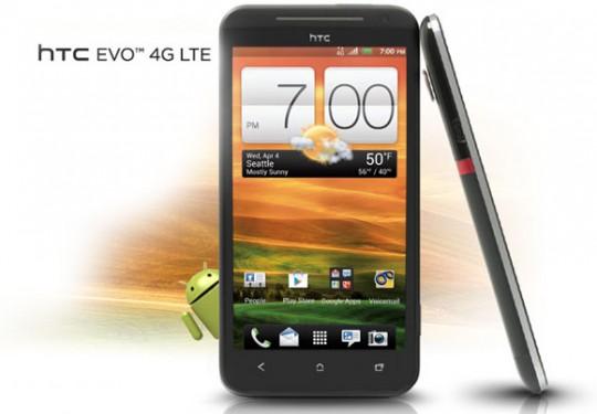 Sprint HTC EVO 4G LTE pics