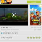 New Google Play Screenshots